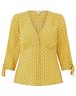 Monsoon Monica Print Blouse