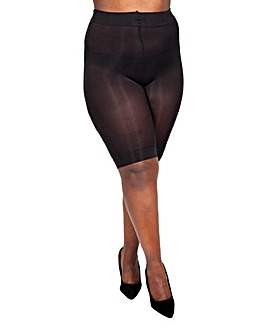 90 Denier Curvy Anti Chafing Shorts Long