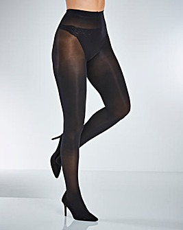 2 Pack Sparkle/Plain Tights