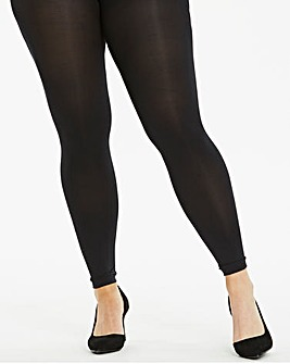 100 Denier Footless Tights
