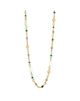 Mood Shell Beaded Rope Necklace