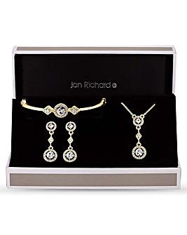 Jon Richard Clara Necklace And Earring