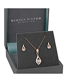 Simply Silver Twist Set