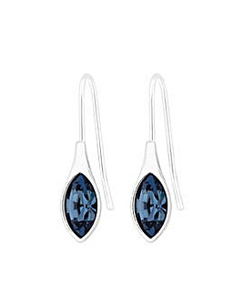 Silver Plated Drop Earring