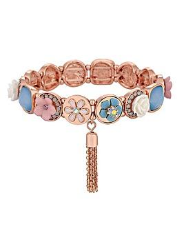 Mood Mix Style Floral Stretch Bracelet