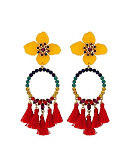 Lipsy Frieda Flower Earring