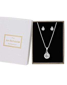 Jon Richard Pendant And Earrings