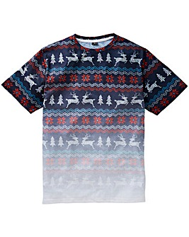 Label J Xmas Reindeer Tee Regular