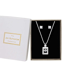 Jon Richard Perfume Bottle Jewellery Set