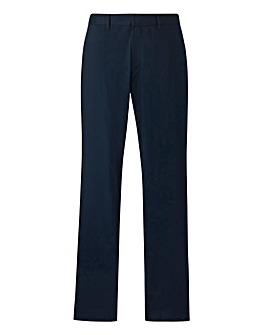 Jacamo Black Label Navy Trousers 31in