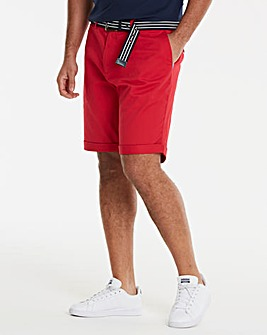 Jacamo Black Label Red Chino Shorts