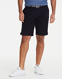 Jacamo Black Label Navy Chino Shorts