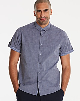 Navy S/S Shirt L