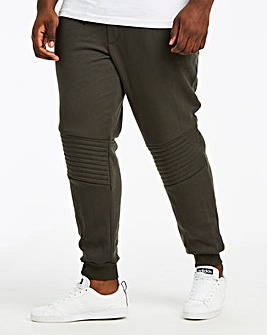 Khaki Fleece Joggers 31 in