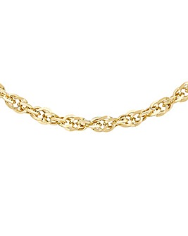 9Ct Gold POW Chain