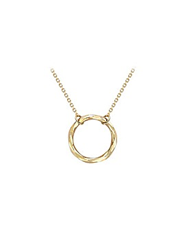9Ct Gold Ring Necklace