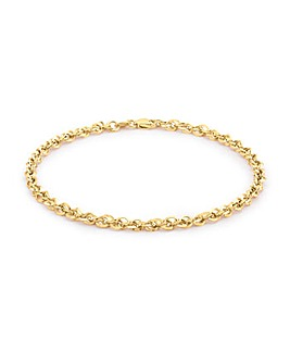 9Ct Gold POW Bracelet