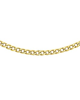 9Ct Gold Curb Chain