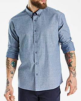 Jacamo Black Label Blue L/S Shirt L