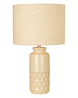 f7c16157a017 Honeycomb Table Lamp