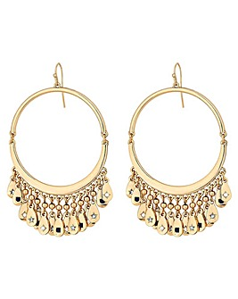Mood Gold Plated Celestial Charm Earring
