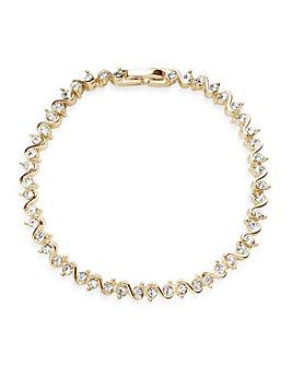 Jon Richard Gold Plated S Style Bracelet