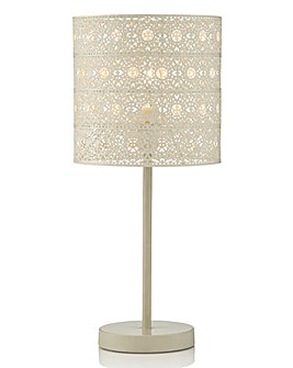 Sahara Cream Table Lamp