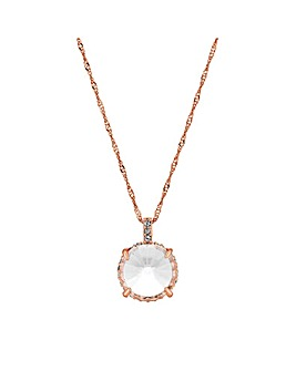 Jon Richard Rose Gold Short Necklace
