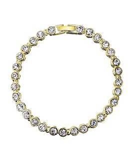 Jon Richard Gold Plated Tennis Bracelet
