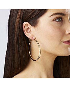 Lipsy Gold Plated Pack Of 2 Hoop Earring