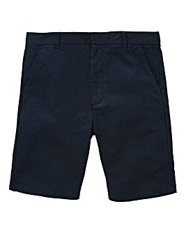 Jacamo Black Label Navy Linen Shorts