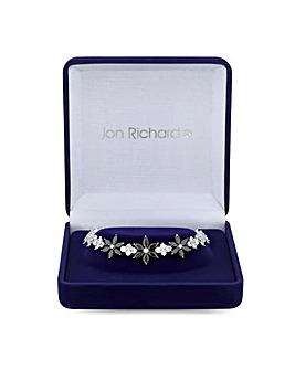 Jon Richard Crystal Flower Bracelet