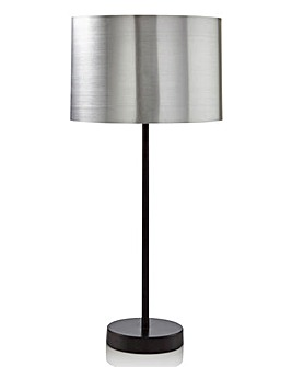 Brooklyn Chrome Shiny Table Lamp