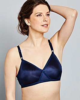 Navy Four Pack Claire Non Wired Bras