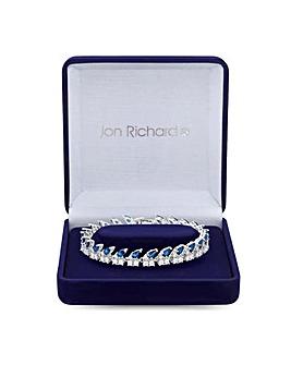 Jon Richard Silver Plated Pear  Bracelet