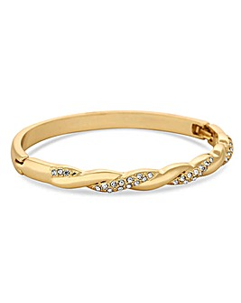 Jon Richard Gold Plated Bangle Bracelet