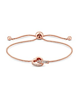 Jon Richard Rose Gold Plated Bracelet