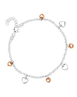 Simply Silver Charm Bracelet