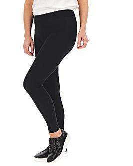 Deep Waist Jersey Leggings Regular