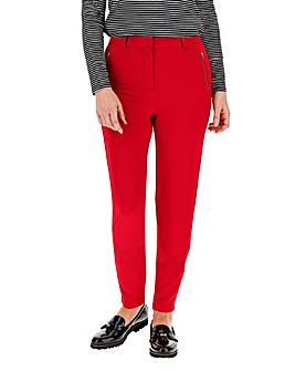 Red Holly Everyday Zip Skinny Trousers