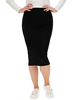 Ultimate Shaper Midi Tube Skirt