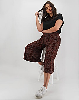 Print Jersey Culottes