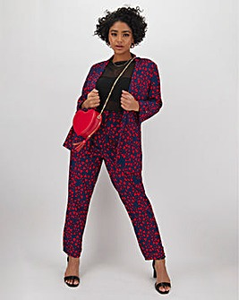 Love Heart Printed Trouser
