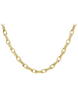 9 Carat Gold Chunky Ladies Necklace