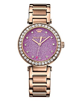 Juicy Couture Ladies Rose Bracelet Watch