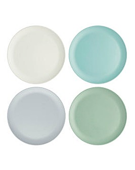 Colourworks 4 Melamine Dinner Plates
