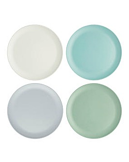 Colourworks 4 Melamine Side Plates