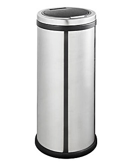 30 Litre Stainless Steel Press Touch Bin