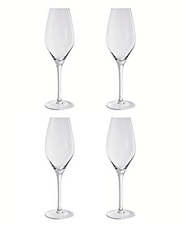 Elegance Set of 4 Flutes