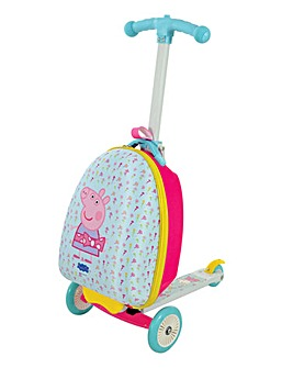 Peppa Pig 3 in 1 Scootin Suitcase